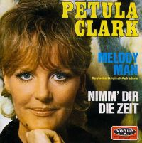 Cover Petula Clark - Melody Man [deutsch]